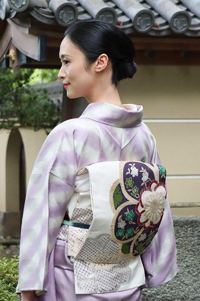 銀座【帯3163】洛風林製 袋帯