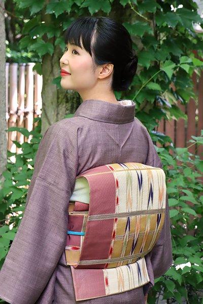 銀座【帯3166】龍村平蔵製 袋帯 銘「近衛間道」