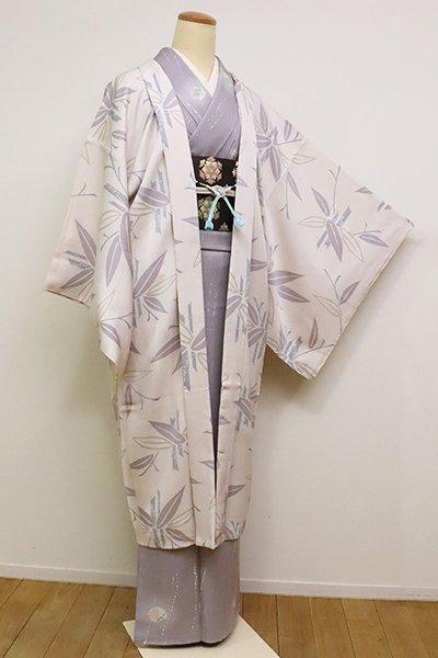 銀座【E-1102】羽織 桜色 竹の図