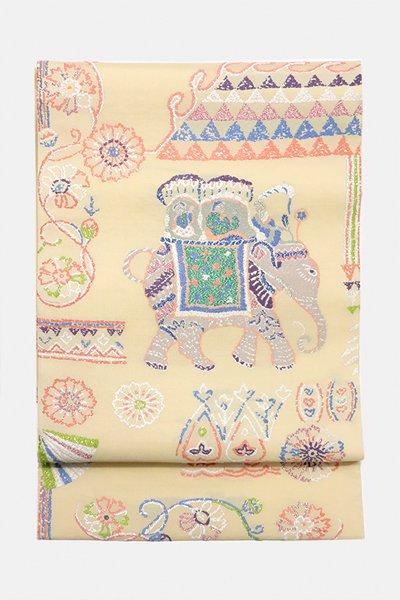銀座【帯3187】西陣 おび弘製 袋帯