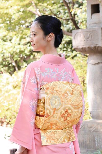 銀座【帯3191】西陣 川島織物製 本袋帯