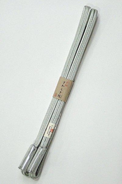 銀座【G-1448】京都 衿秀製 帯締め 冠組 柳鼠色(新品)