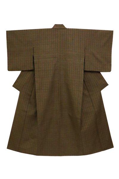 銀座【着物2650】ざざんざ織 単衣 着物