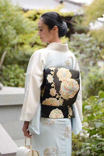 銀座【帯3207】西陣 川島織物製 本袋帯