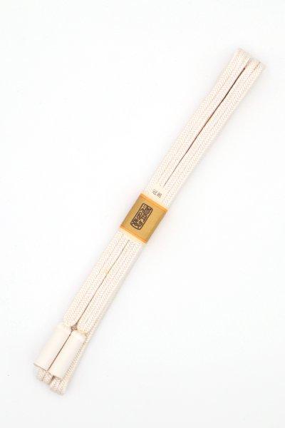 【G-1500】道明 帯締め 冠組 白色(未使用)