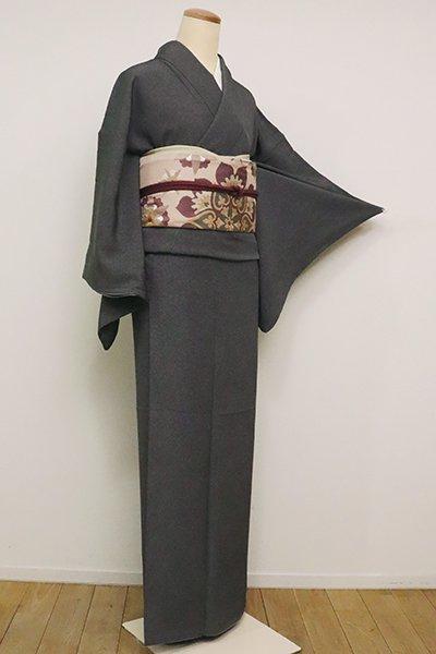 銀座【C-1784】(S)江戸小紋 黒色 鮫(反端付)