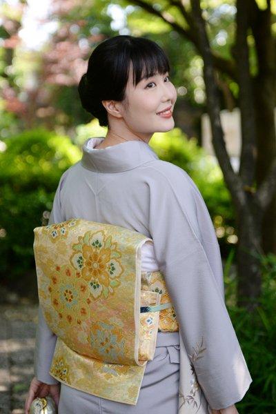 銀座【帯3223】西陣 川島織物製 本袋帯
