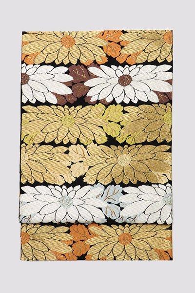 銀座【帯3230】西陣 河合美術織物製 袋帯