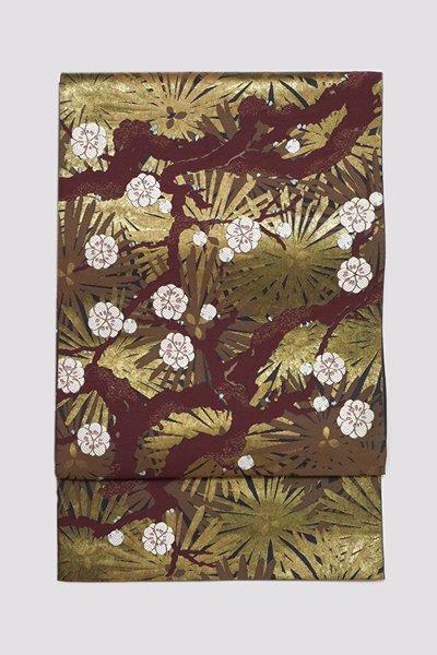 銀座【帯3240】西陣 川島織物製 本袋帯