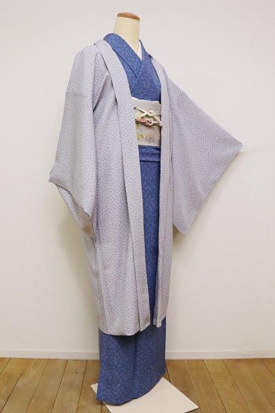 銀座【E-1176】羽織 紫水晶色 梅鉢文(反端付)(N)