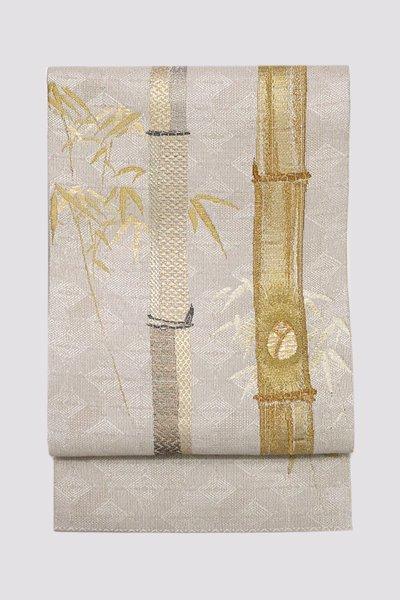 銀座【帯3245】西陣 誉田屋源兵衛製 袋帯 (反端付)