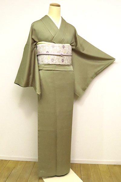 銀座【C-1799】江戸小紋 松葉色 鮫