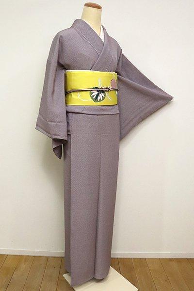 銀座【C-1800】江戸小紋 似せ紫色 行儀