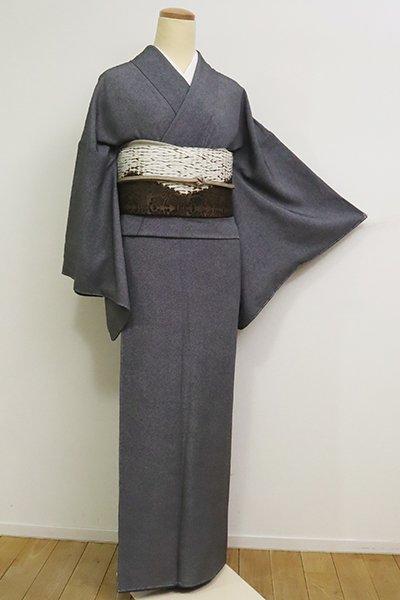 銀座【C-1814】江戸小紋 藍鉄色 鮫