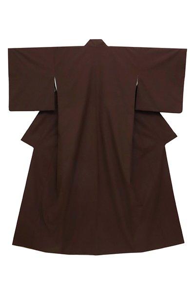 あおき【着物2705】東郷織物製 薩摩絣 みじん格子 (反端付・青山八木畳紙付)