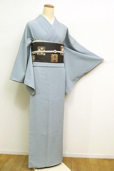 銀座【C-1830】(S・広め)きもの英製 繍一ッ紋 色無地 秘色色
