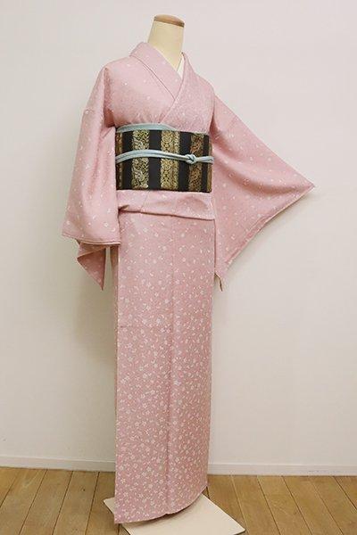 銀座【B-2542】(S)付下げ 虹色 桜文