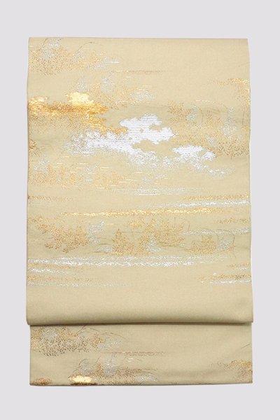 銀座【帯3315】龍村平蔵製 本袋帯 銘「しのぶはら」