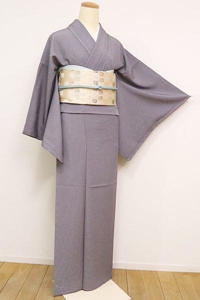 銀座【C-1860】江戸小紋 藤煤竹色 万筋