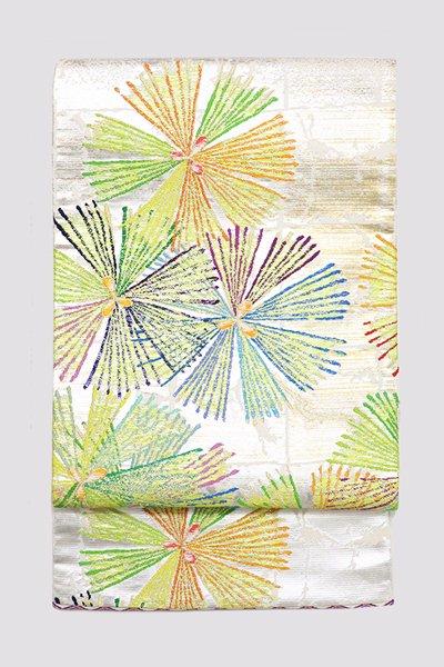 銀座【帯3329】龍村平蔵製 本袋帯 銘「神韻寿松図」