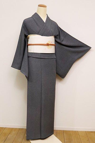 銀座【C-1861】(S)保科土山作 江戸小紋 黒色 角通し(反端付・落款入)