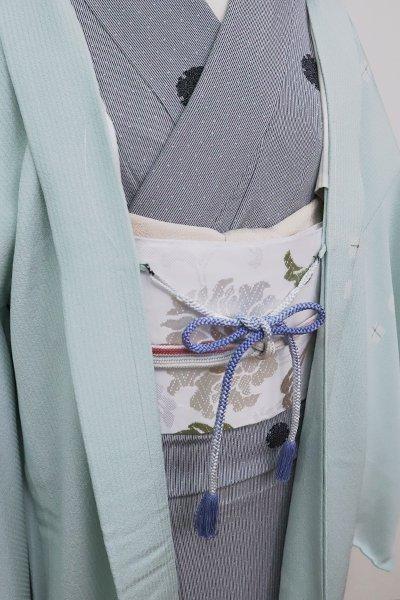 銀座【G-1578】京都衿秀 羽織紐 丸組 薄花桜色 暈かし(新品)