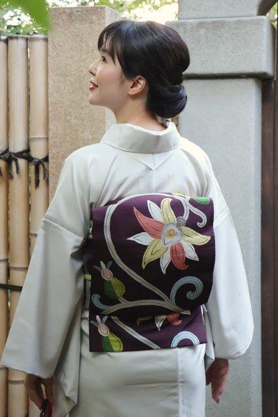 銀座【帯3350】洛風林製 袋帯