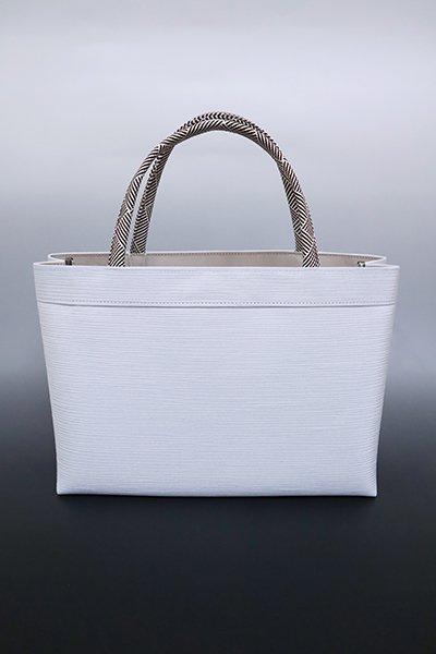 【G-1606】京都衿秀 楊柳×組紐 トートバッグ  白菫色