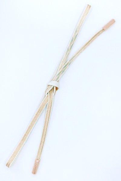 【G-1635】京都衿秀 帯締め 大和組 洗柿色