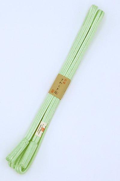 【G-1637】京都衿秀 帯締め 冠組 夏虫色