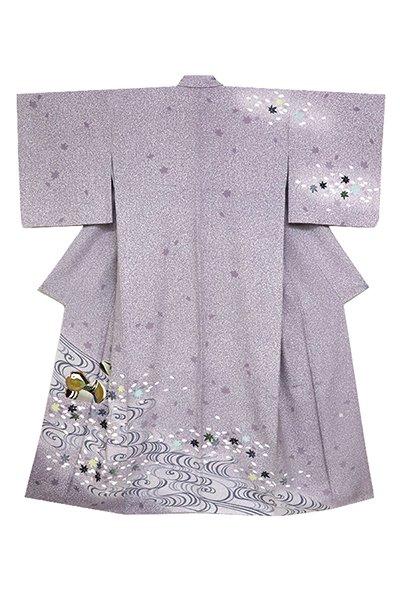 銀座【着物2783】TOKIO et TOKI 訪問着 蒔糊に桜楓の図 (落款入)