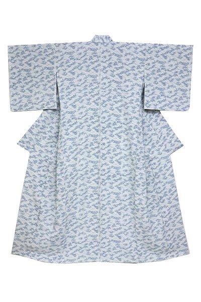 銀座【着物2787】本藍 両面染 単衣着物