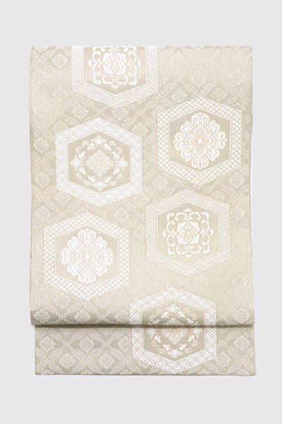 銀座【帯3405】西陣 河村織物製 唐織 袋帯