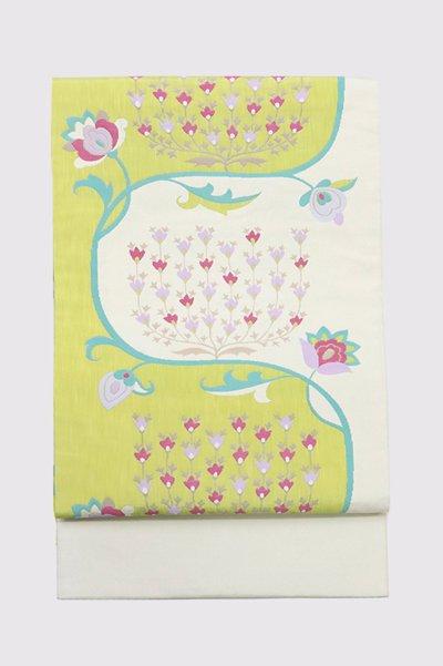 銀座【帯3406】西陣 今河織物製「木屋太」袋帯 (反端・西陣証紙付)