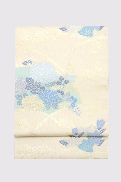 銀座【帯3416】西陣 川島織物製 紗本袋帯