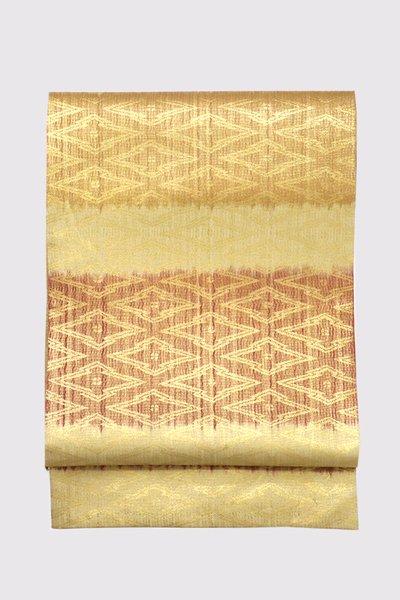 銀座【帯3425】西陣 紋屋井関製 御寮織 袋帯
