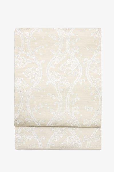 銀座【帯3434】西陣 川島織物製 絽 織名古屋帯