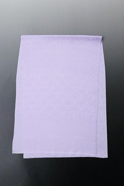 【G-1725】京都衿秀 夏 帯揚げ 七宝花菱文 藤紫色