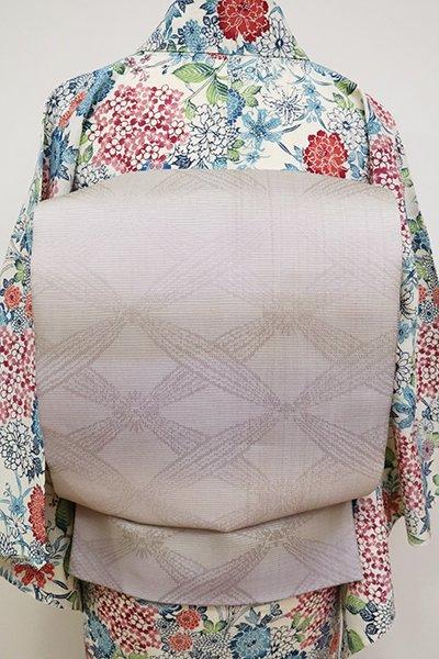 あおき【L-5160】夏 染洒落袋帯 潤色 横段暈かし