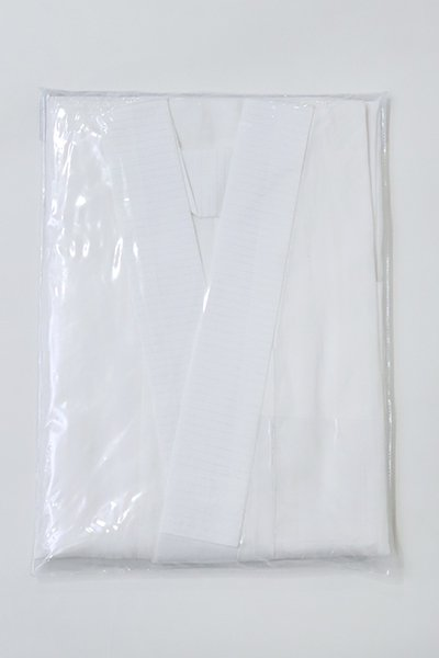 あおき【F-468】麻 長襦袢 白色 無地