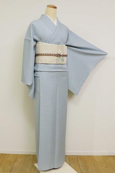銀座【C-1920】(L)単衣 染一ッ紋 秘色色 色無地(高島屋扱い)
