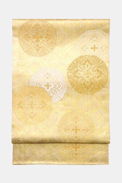 銀座【帯3486】西陣 紋屋井関製 御寮織 袋帯