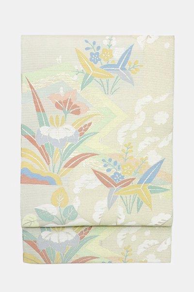 あおき【帯3491】西陣 川島織物製 絽 本袋帯
