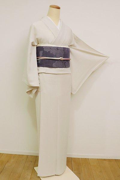銀座【D-2593】(S)単衣 小紋 練色 源氏香の図