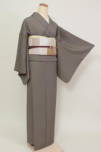 銀座【C-1932】(細め)江戸小紋 鉄黒色 万筋