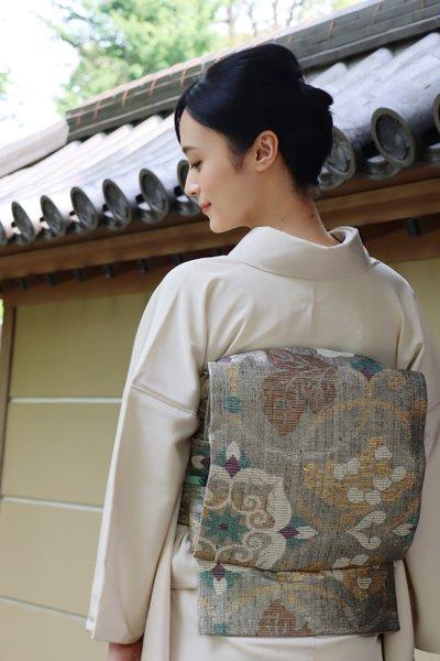 銀座【帯3577】西陣 誉田屋源兵衛製 袋帯