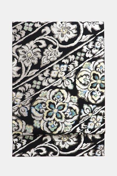 銀座【帯3582】西陣 洛陽織物製 袋帯 (反端・栞・西陣証紙付)