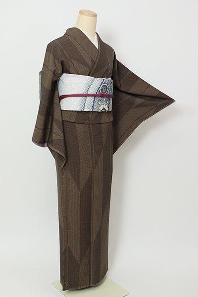 銀座【D-2671】(S)小紋 憲法色 矢絣文