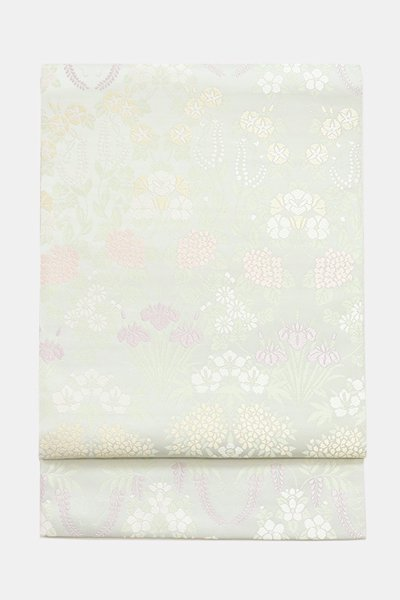 銀座【帯3625】西陣 川島織物製 袋帯 (西陣証紙付)