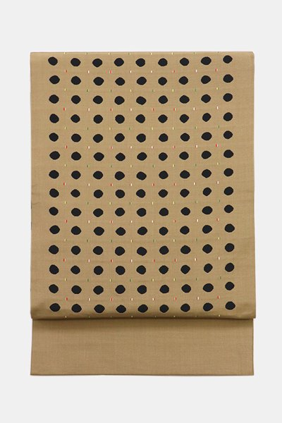 銀座【帯3628】西陣 今河織物製「木屋太」袋帯